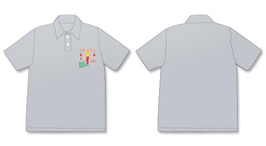 No.2ポロシャツグレイ