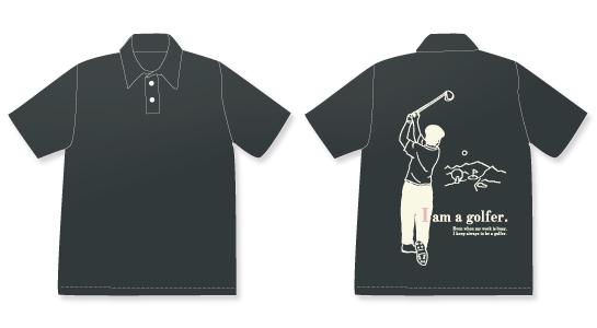 No.3ポロシャツブラック